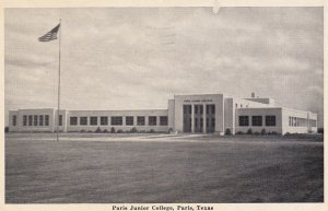 PARIS , Texas , PU-1942; Paris Junior College