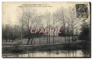 Postcard Old Bréal-sous-Montfort Chateau d'Artois and Haute Foret