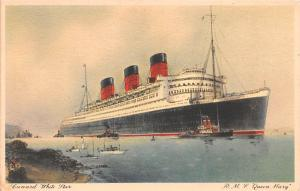 Cunard White Star, RMS Queen Mary Ship Unused