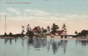 ST. LAWRENCE, Ontario, Canada, PU-1911; Zavikon River