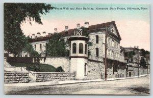 Stillwater Minnesota~State Prison~Front Wall & Main Building~Box on Sidewalk~'10
