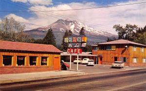 Weed California~Hi-Lo Motel~Cafe Ice Cream~Colorful Sign~1950s Cars~Postcard