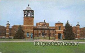US Federal Prison Terre Haute, Indiana USA Prison Unused