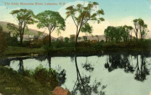 NH - Lebanon. Mascoma River, The Eddy