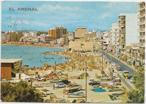 EL ARENAL, Mallorca, Spain, 1972 used Postcard