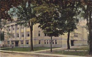 High School, Oneonta, New York, PU-1912