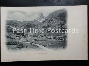 c1908 PC - Zermatt u.das Matterhorn - Switzerland