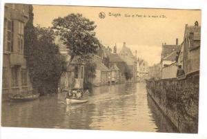 BRUGES , Belgium, 00-10s; Quai et Pont de la main d'Or