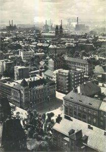 Postcard CZECH REPUBLIC Ostrava la coeur d'acier de la republique panoramic view