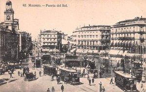 Puerta del Sol Madrid Spain Unused