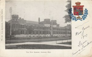 LONDON, Ontario, Canada, 1907 ; New Armory