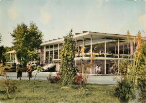 Bulgaria Nessebar casino semi-modern postcard