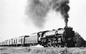 CHESAPEAKE & OHIO RAILROAD # 485-THE SPORTSMAN-WILLIAMSBURG VA 1947 POSTCARD