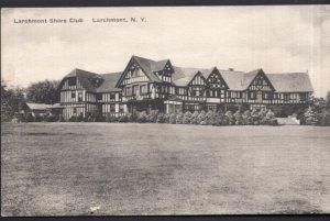 New York LARCHMONT Shore Club - pm1936 - Divided Back