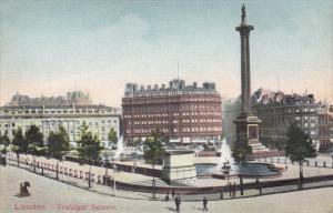LONDON, England, 1900-1910´s; Trafalgar Square