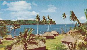 A typical Fijian Village, Naboutini, Fiji, 40-60s