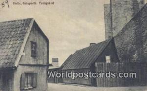 Sweden, Sverige Visby, Gatuparti, Torngrand Visby, Gatuparti Torngrand