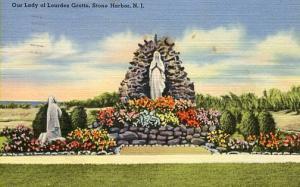 NJ - Stone Harbor. Our Lady of Lourdes Grotto