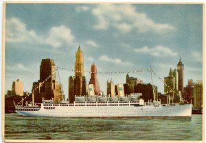 Swedish American Liners - MS Kungsholm & Gripsholm