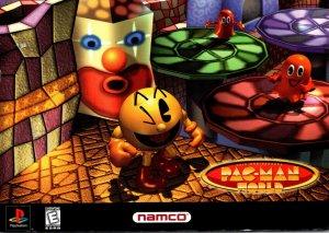Advertising Pac-Man World 2005