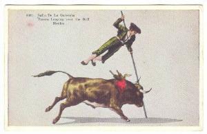 Salto De La Garrocha, Torero Leaping over the Bull, Mexico, 10-20s