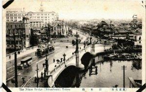CPA AK TOKYO The Nihon Bridge Nihonbashi JAPAN (609082)