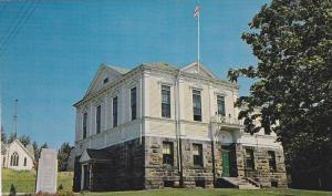 Exterior, Court House, Baddeck, Cape Breton, Nova Scotia, Canada, 40-60s