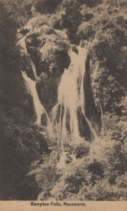 Mussoorie Kamptee Falls Clifton Kent Old Postcard
