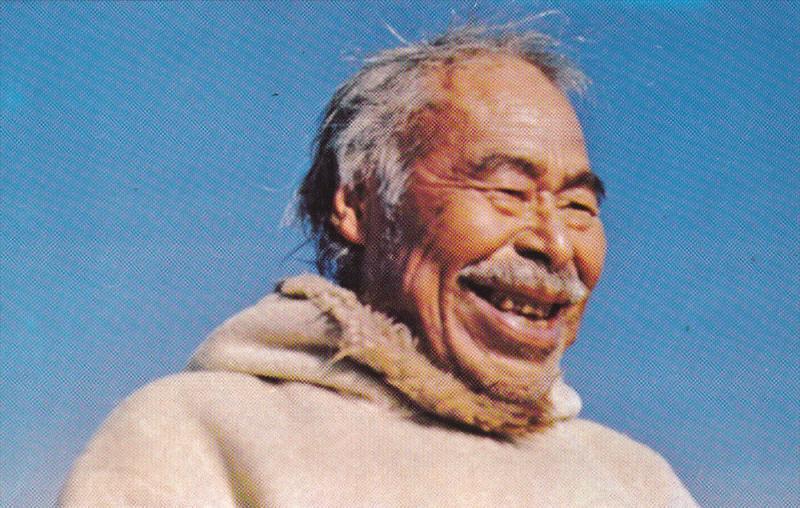 Eskimo Man , Nunavut , Canada , 50-60s