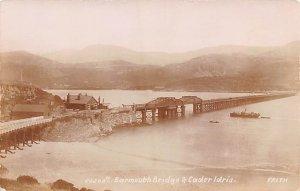 Barmouth Bridge & Cader Ldris United Kingdom, Great Britain, England Unused