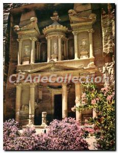 Modern Postcard El Khazneh Treasury Petra Jordan