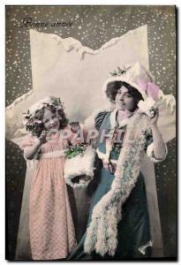 Old Postcard Fantaisie Child