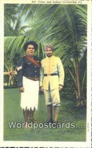 Fiji, Fijian Fijian & Indian Constables  Fijian & Indian Constables