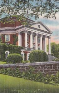 Virginia Charlottesville The Rotunda University Of Virginia