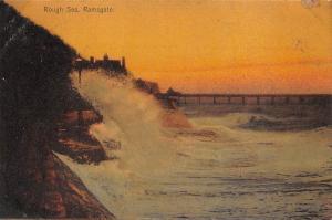 Kent, Ramsgate Rough Sea 1906