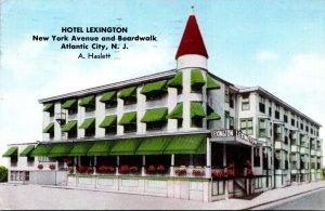 New Jersey Atlantic City Hotel Lexington 1960