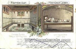 Postyeni Austria, Österreich Iszap furdo Postyeni Iszap furdo