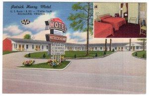 Richmond, Virginia, Patrick Henry Motel