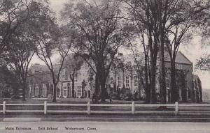 Connecticut Watertown Main Enterance Taft School