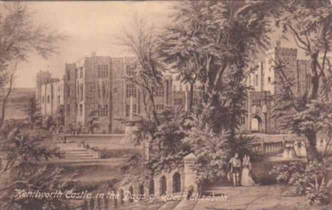 England Kenilworth Castle In The Days Of Queen Elizabeth