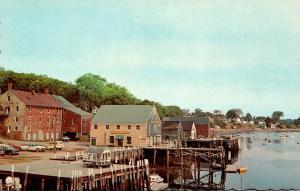 Maine Castine Waterfront View