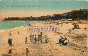 Postcard Old Saint Nazaire Beach