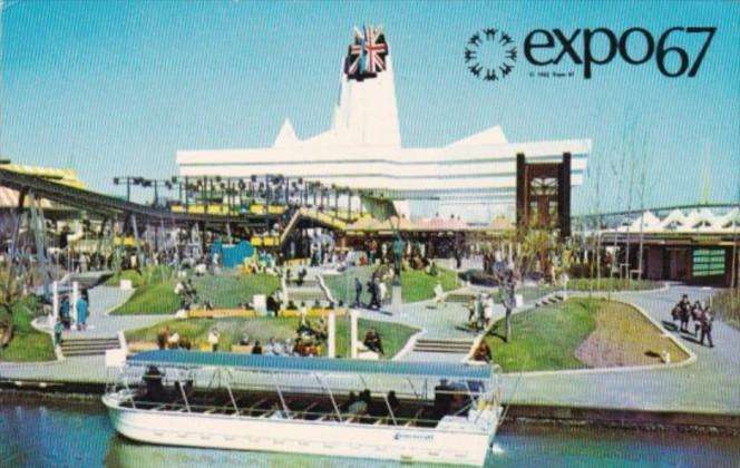 Great Britain Pavilion Expo67 Montreal Canada