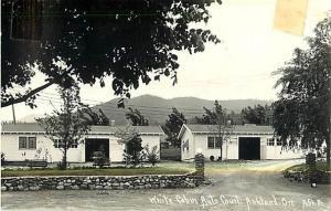 RPPC of White Cabin Auto Court, Ashland Oregon OR 1950