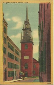 Boston, Mass., Old North Church