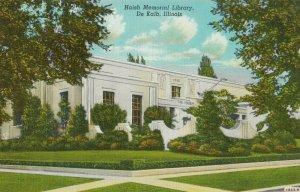 DE KALB , Illinois, 1930-40s , Haish Memorial Library
