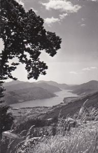 Switzerland Kurhaus Cademario Blick auf Agnosee 1959 Photo