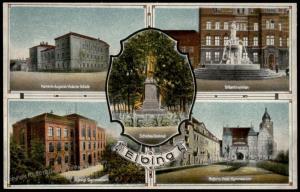 Danzig Elbing Early 1900s Germany Empire-Era Gdansk Poland Postcard 84092