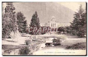 Old Postcard Luchon Casino and the Park