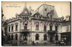 Old Postcard Bank Caisse d & # 39Epargne Dijon